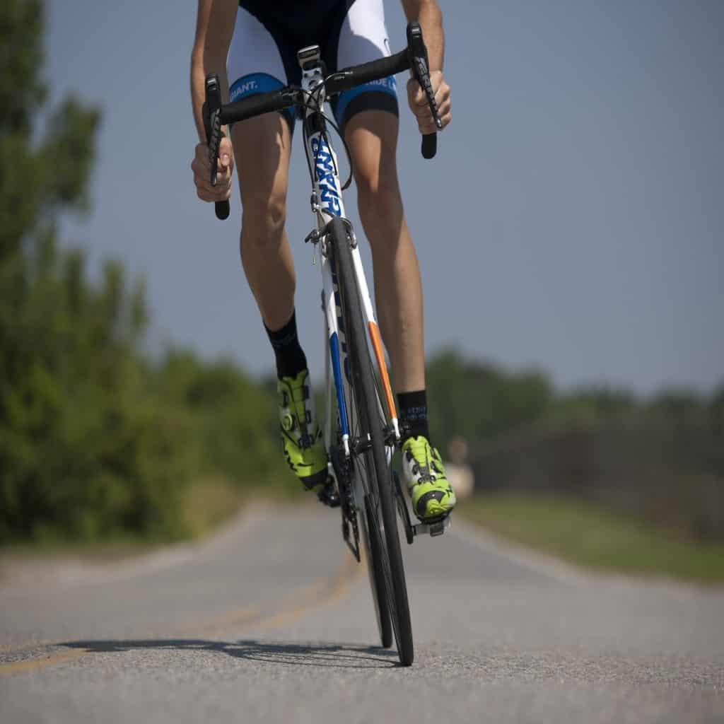 Radfahrer Urlaub